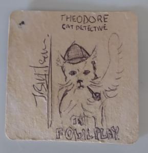 Theodore Cat Detective